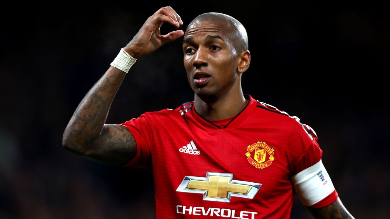 Ashley Young leaves Manchester United for Inter Milan