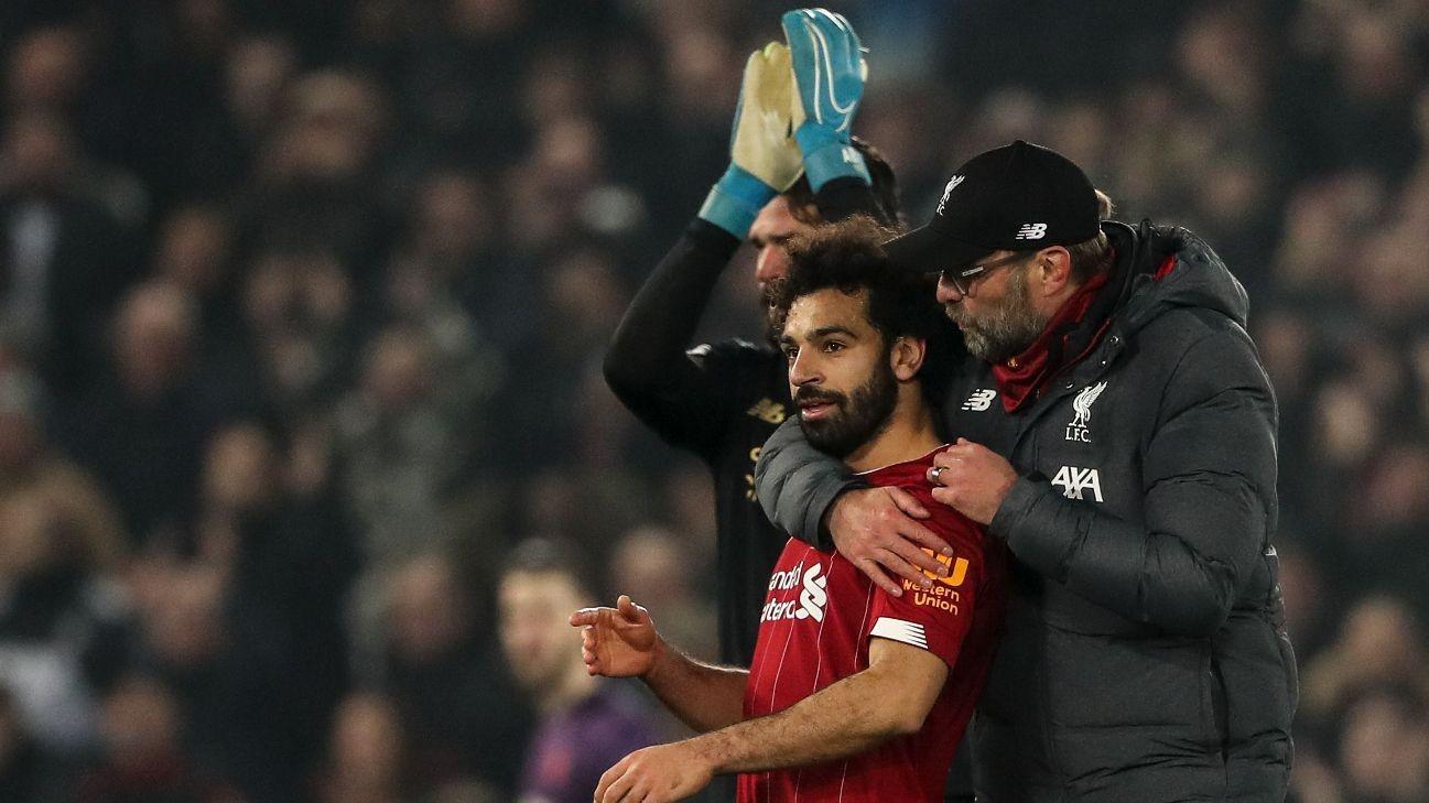 'Sensational' Liverpool could've scored more vs. Man Utd - Klopp