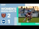 West Ham 2 Albion Women 1