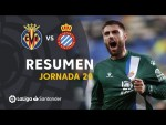 Resumen de Villarreal CF vs RCD Espanyol (1-2)