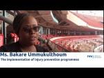 FIFA Medical Network: Dr Bakare Ummukulthoum