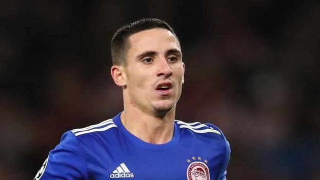 Wolves chasing Olympiakos winger Daniel Podence