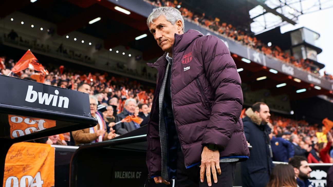 Barcelona's defeat at Valencia shows Setien the size of his task at Camp Nou