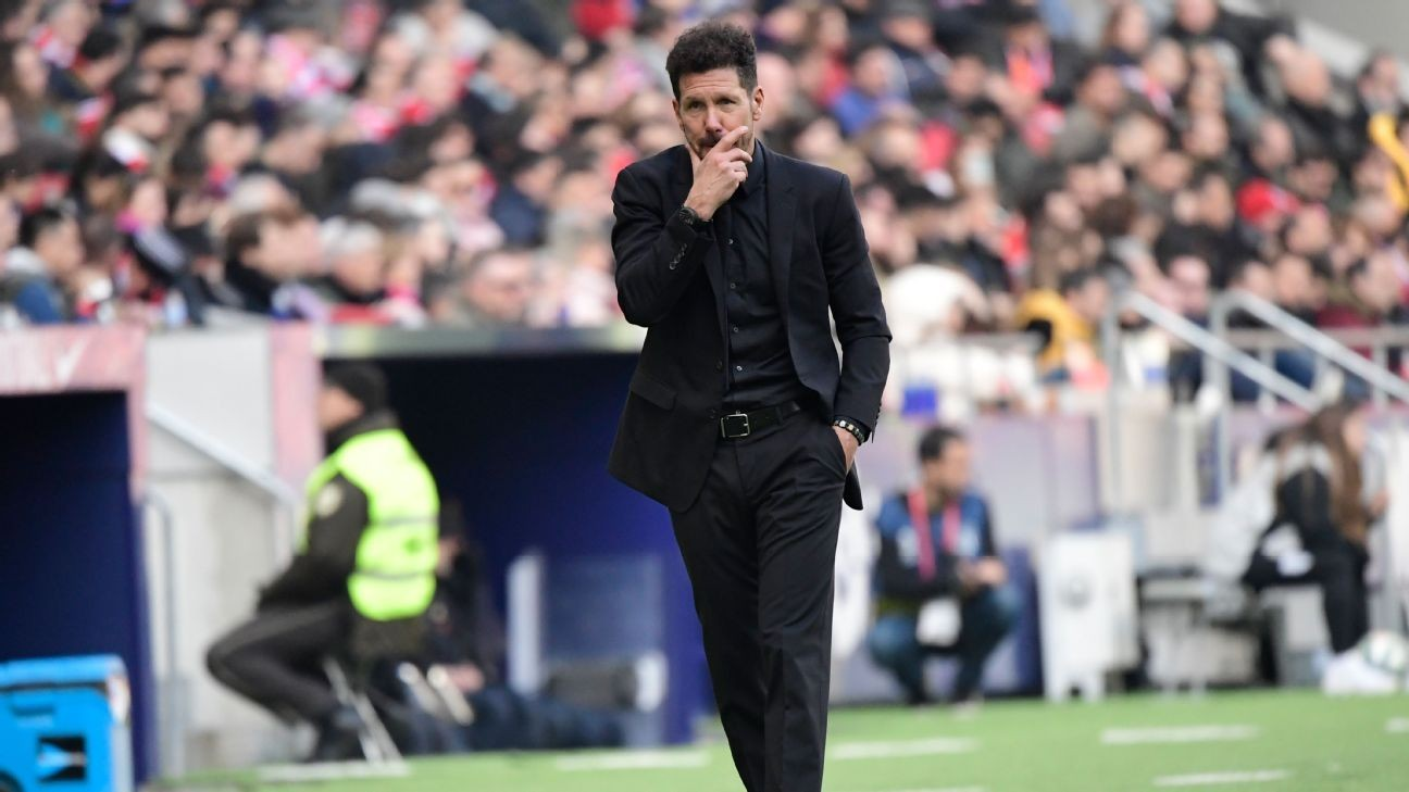 Atletico Madrid stumble to 0-0 draw at home against strugglers Leganes