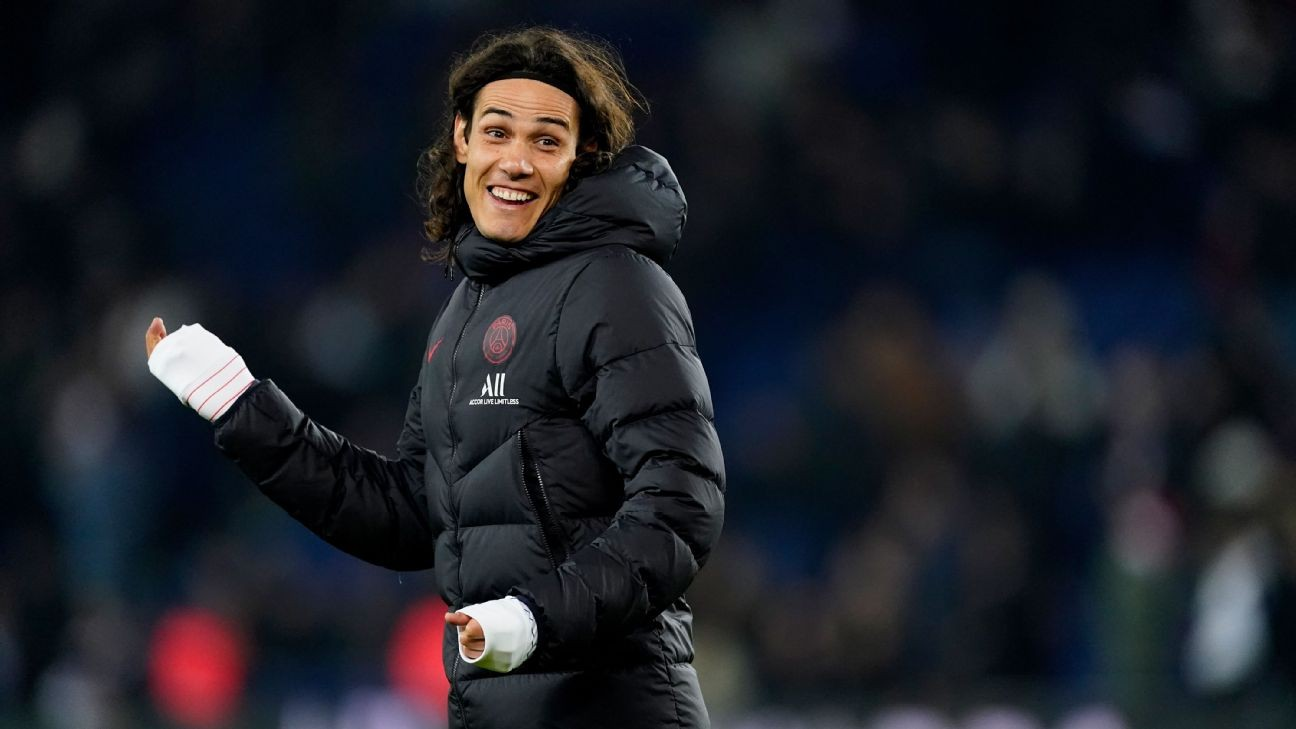 PSG's Edinson Cavani close to completing switch to Atletico Madrid - sources