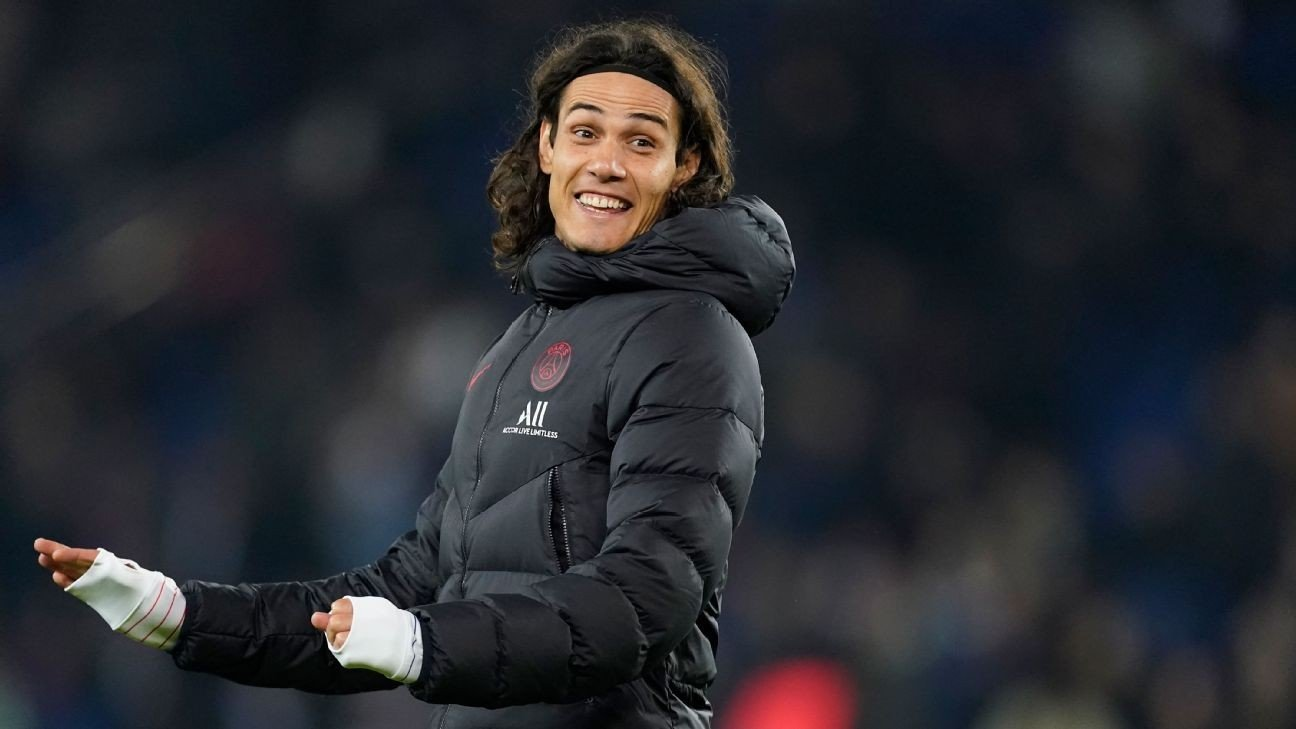 PSG, Atletico Madrid close to an agreement for Cavani - sources
