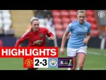 Women's Highlights | Manchester United 2-3 Manchester City | FA Women's Cup