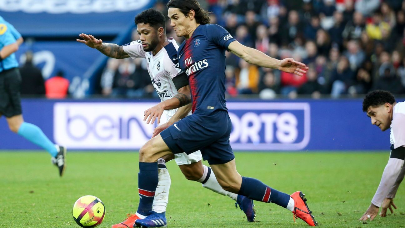 Sources: Atletico Madrid's Cavani chase collapses over PSG's ¬20m demand