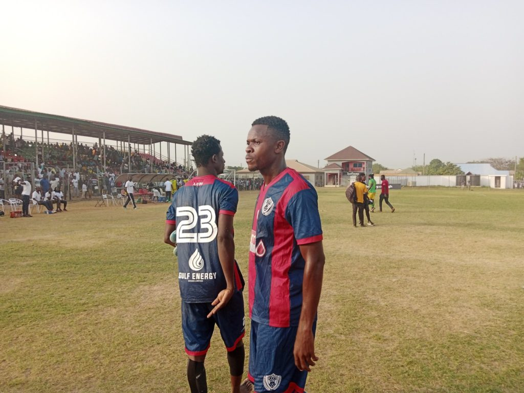 Defender Nicholas Mensah pleads with fans to continue rallying behind Legon Cities after Aduana Stars defeat