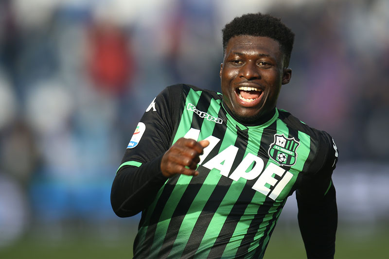 AC Milan enter race to sign Sassuolo midfielder Alfred Duncan
