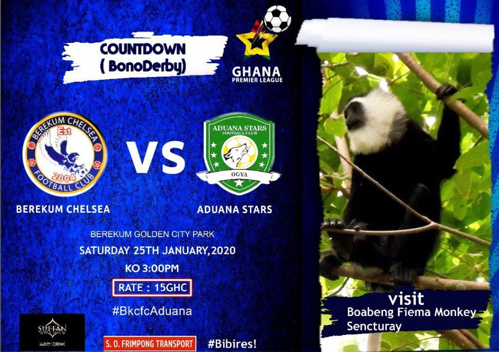 2019/20 Ghana Premier League: Week 6 Match Preview — Berekum Chelsea v Aduana Stars