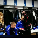 VIDEO: Mubarak Wakaso bids emotional farewell to Deportivo Alaves teammates after Jiangsu Suning switch