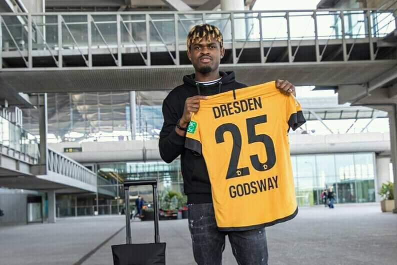 Ghanaian forward Godsway Donyoh joins German side Dynamo Dresden