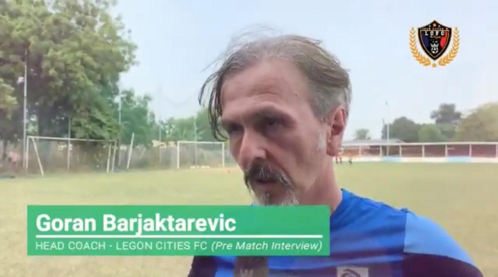 VIDEO: Legon Cities FC gaffer Goran Barjaktarevic cautions Asante Kotoko ahead of Friday's GPL clash