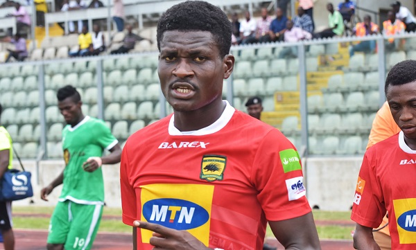 Agyeman Badu suspended for Hearts-Kotoko clash