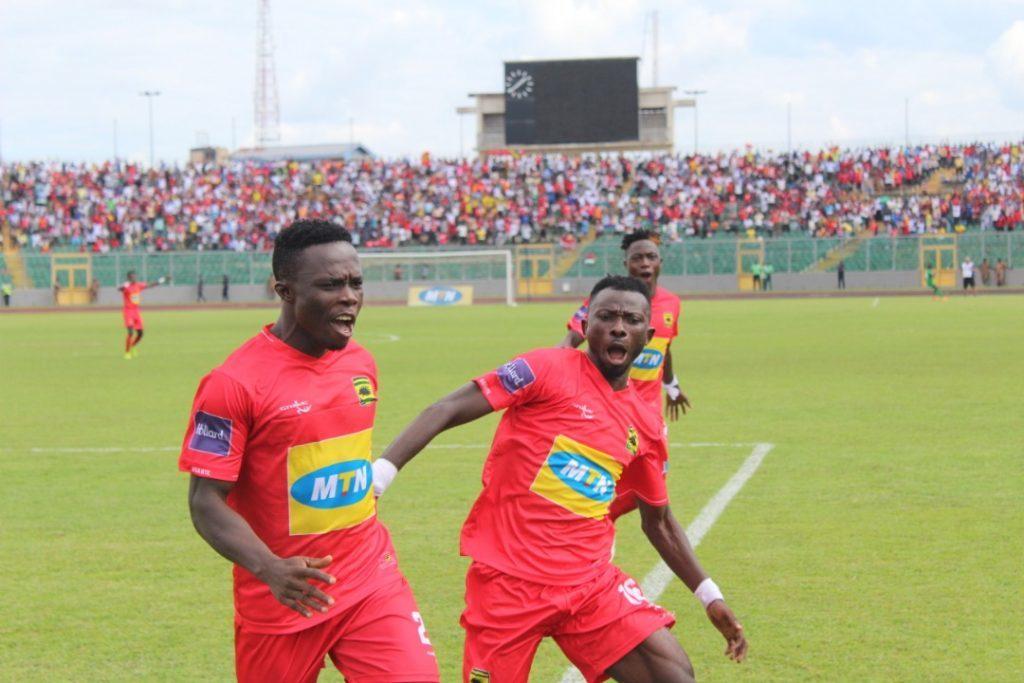 Asante Kotoko winger Augustine Okrah scores first GPL goal in 2039 days