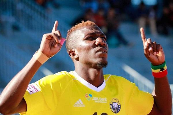Breaking News: Ghanaian giants Hearts of Oak capture top striker Abednego Tetteh