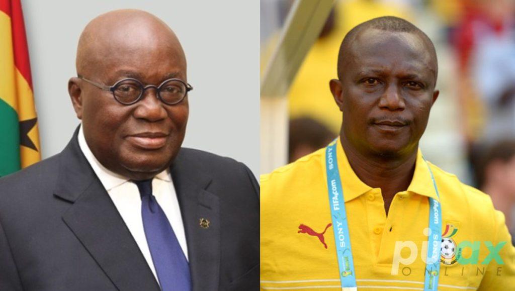 Kwesi Appiah thanks Ghana President Akufo Addo for opportunity to coach Black Stars