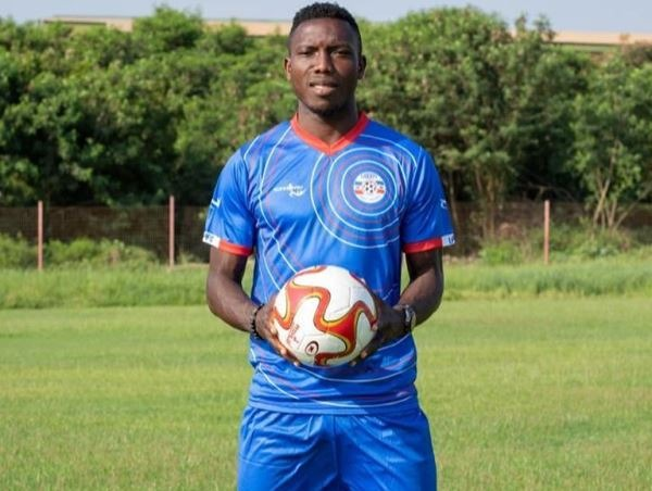 Liberty Professionals' impressive midfielder, Michael Sefah nets 1st goal in 2-1 loss to Hearts