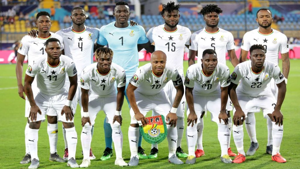 Ghana handed kind 2022 World Cup qualifying group, face South Africa and Zimbabwe