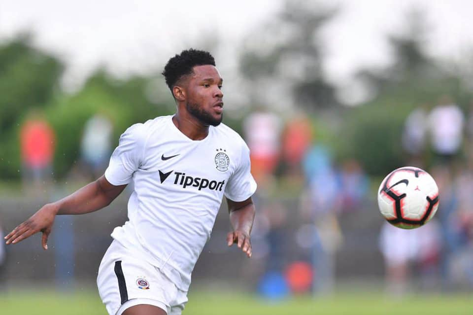 VIDEO: Ghanaian striker Benjamin Tetteh scores hat-trick in big Sparta Prague win