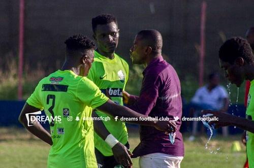 Dreams FC coach Winfred Dormon unfazed by 'giants killers' Berekum Chelsea
