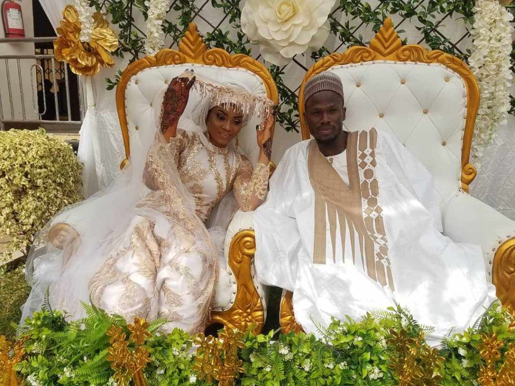 Former Asante Kotoko striker Fatawu Safiu ties knot with long-time girlfriend