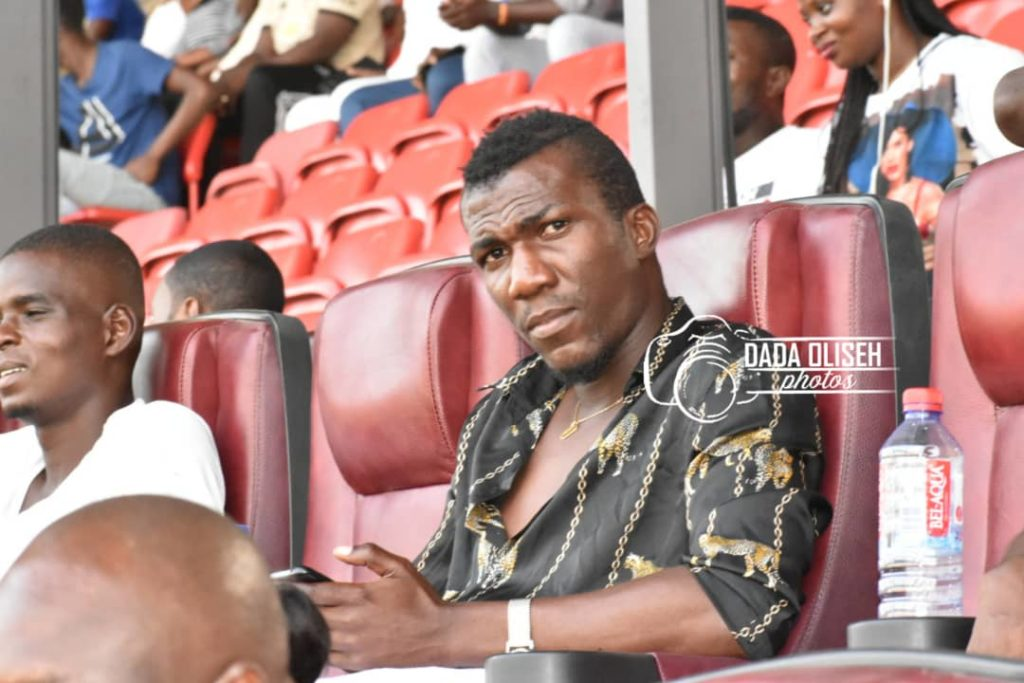 Deadly forward Abednego Tetteh handed No. 36 shirt at Hearts of Oak