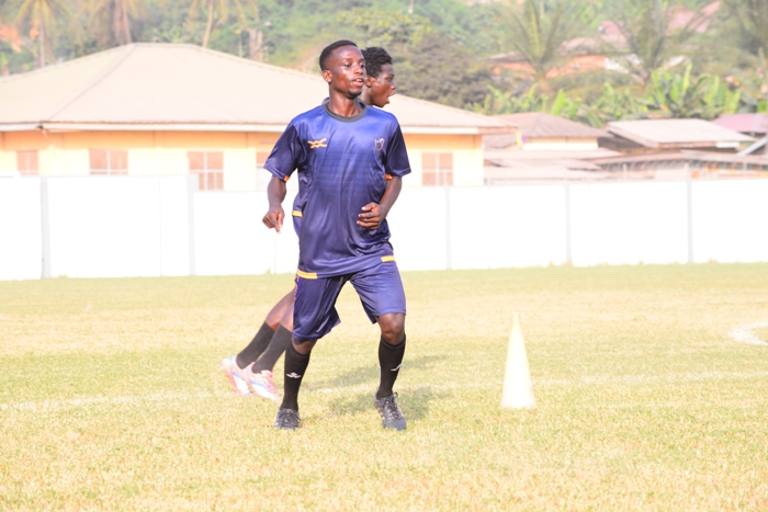 Ebenezer Ackhabi: The Medeama kid hoping to impress coach Samuel Boadu