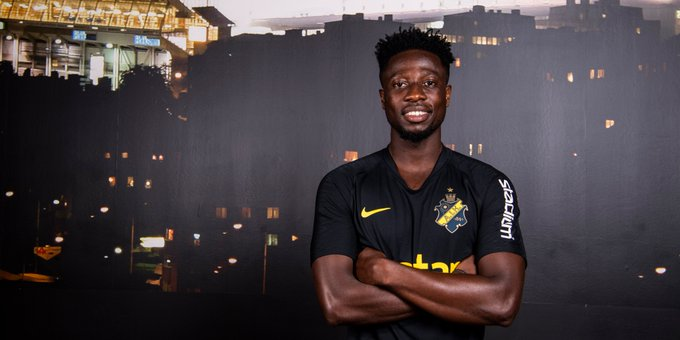 VIDEO: Ebenezer Ofori ready to start playing for AIK