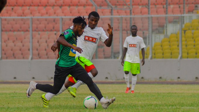 Maxwell Baakoh makes first appearance for Asante Kotoko in 10 months