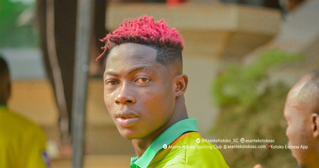I want to build a hospital for my village before I retire- Asante Kotoko midfielder Justice Blay