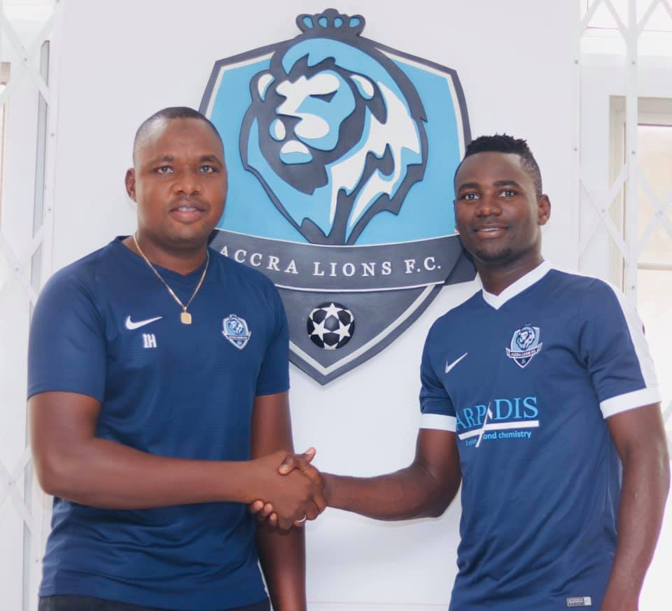 Division One League: Accra Lions FC sign winger Hamidu Abdul Fatawu