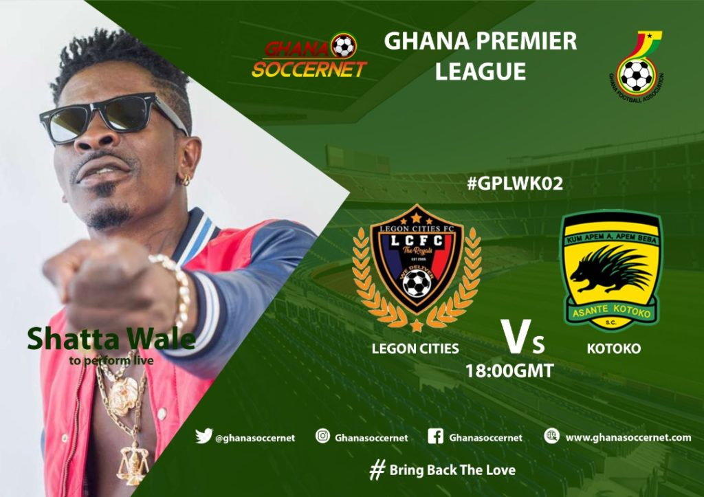 2019/20 Ghana Premier League: Week 2 Match Preview - Legon Cities FC v Asante Kotoko