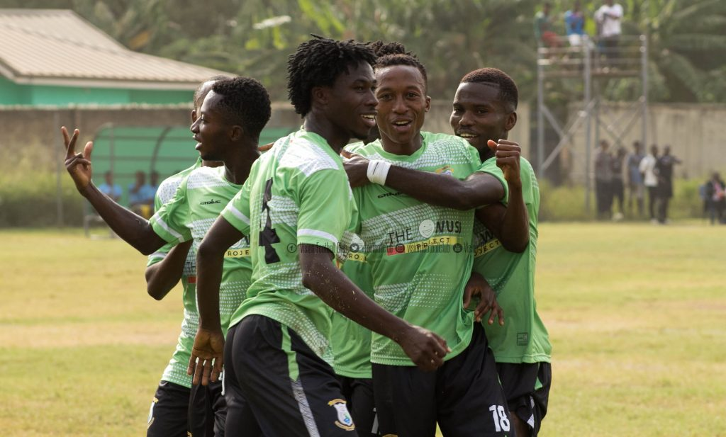 2019/20 Division One League: Vision FC off winning start after beating Accra Lions 1-0