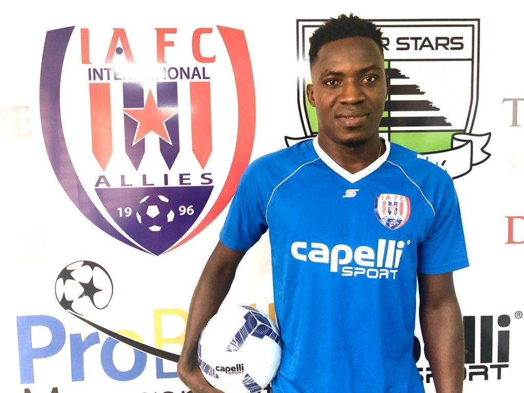 Inter Allies announce Gockel Ahortor signing
