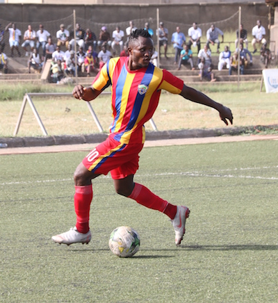 Hearts forward Joseph Esso emerges as injury doubt for super two clash against Kotoko