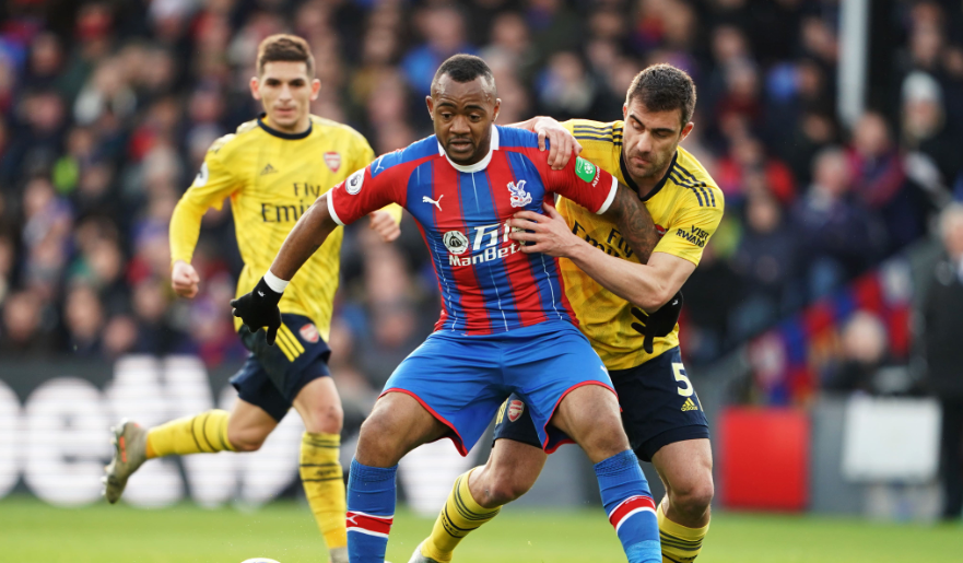 VIDEO: Watch Jordan Ayew score his 6th goal of the season in Crystal Palace draw against Arsenal