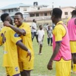 Medeama boosted as striker Kalibo Toussaint returns to full scale training ahead of Aduana Stars showdown
