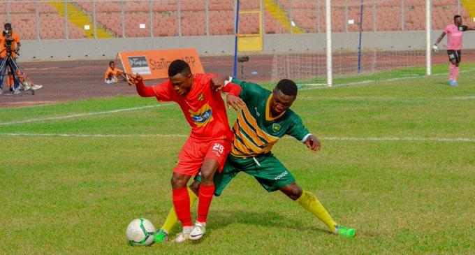 VIDEO: Watch Asante Kotoko's late show in 2-0 win over Ebusua Dwarfs