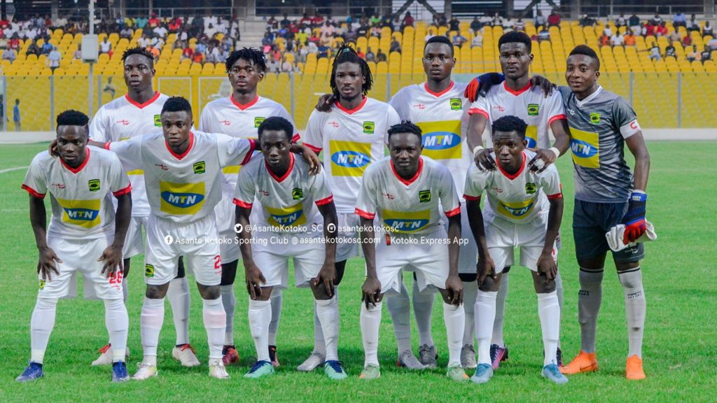 PHOTOS: Legon Cities FC 1-3 Asante Kotoko