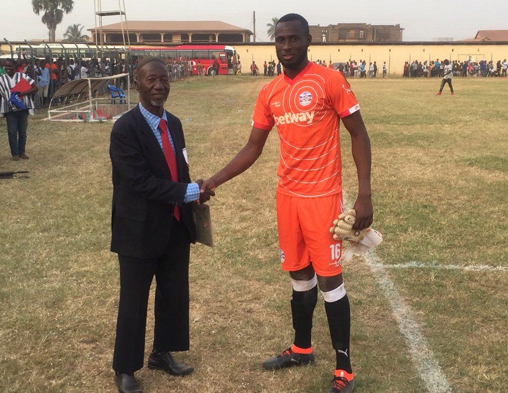 VIDEO: Liberty Professionals goalie Shaibu talks up MOTM heroics in Berekum Chelsea draw