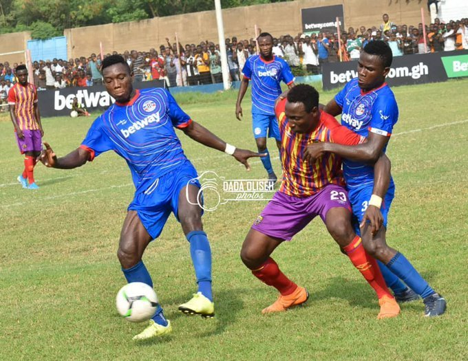 VIDEO: Liberty Professionals midfielder Michael Sefa shares thoughts after Hearts defeat