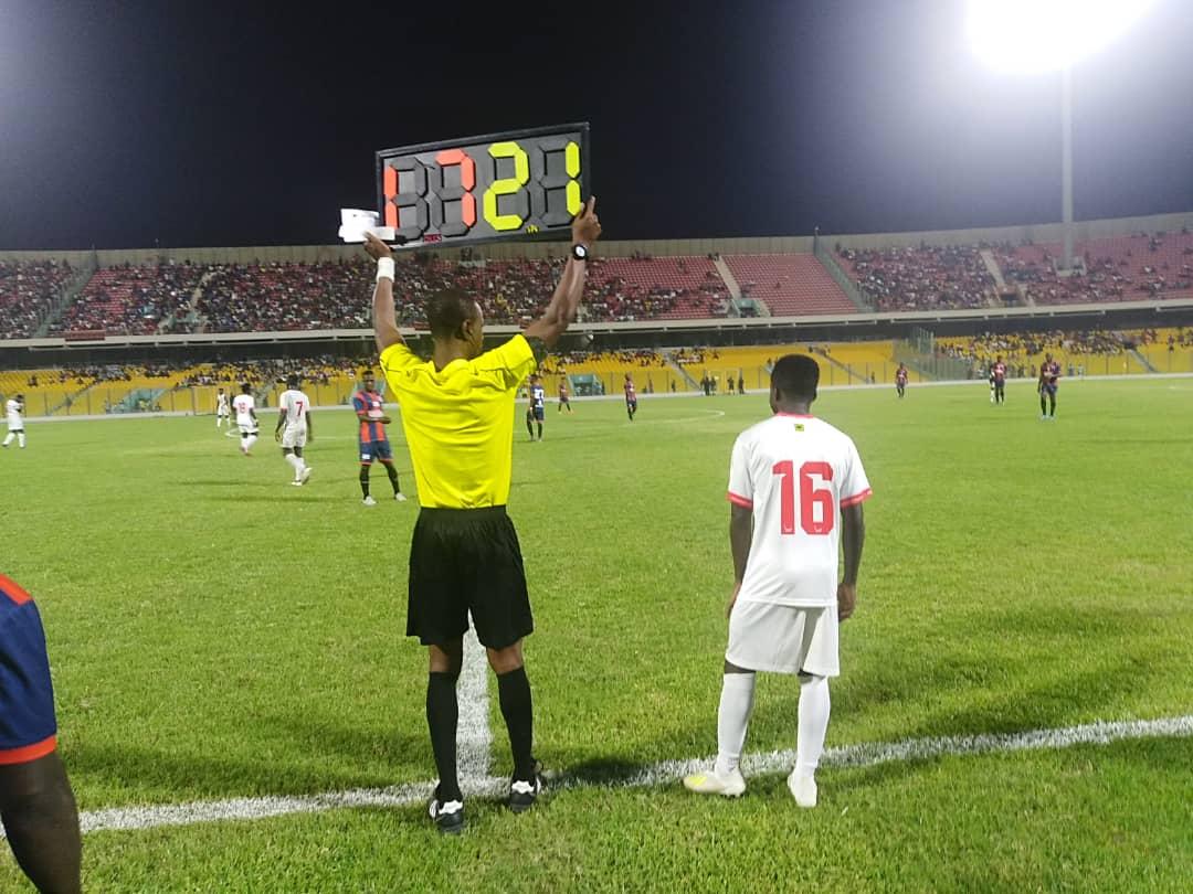Kotoko starlet Matthew Cudjoe marks Ghana Premier League debut