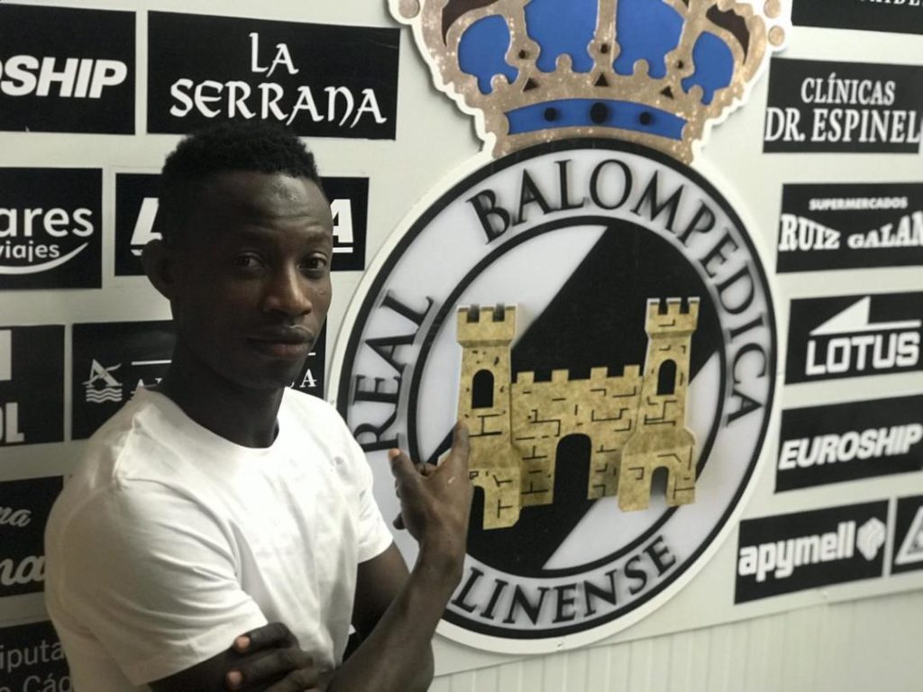 Ghanaian left-back joins Spanish Segunda B side RB Linense