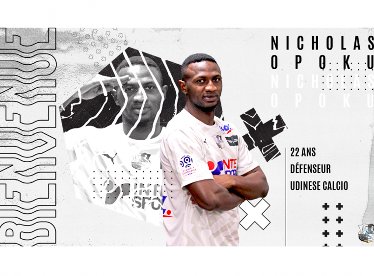 OFFICIAL: Ghana defender Nicholas Opoku completes move to French side Amiens SC