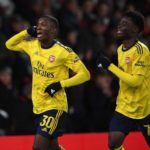 Arsenal manager Mikel Arteta praises 'terrific' Eddie Nketiah in win against Bournemouth