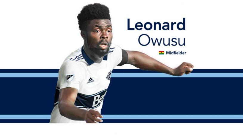 Former Dreams FC captain Leonard Owusu signs for MLS side Vancouver Whitecaps