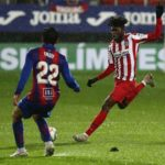 Thomas Partey insists Atletico Madrid needs to 'improve as a team' after Eibar defeat