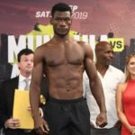 "Ghanaian boxer Patrick Allotey in hot water after being caught pummeling a ""helpless"" football fan"
